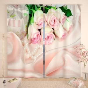 Фотошторы Шелковые розы