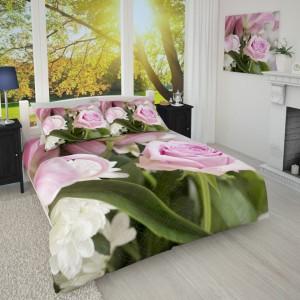 Фотопокрывало Нежная розовая лилия