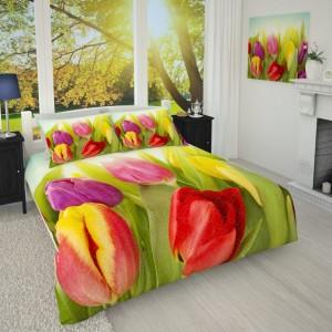 Фотопокрывало Солнечные тюльпаны