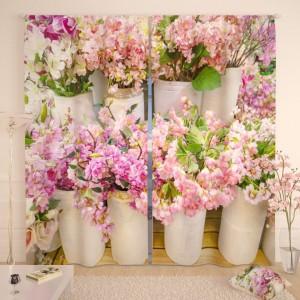 Фотошторы Цветочный базар