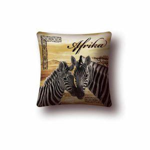 """Наволочка """"Африка (зебра и детеныш)"""" (45х45)"""