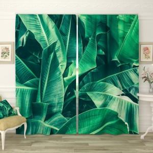 Фотошторы Банановые листья