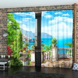 Фотошторы Вид с балкона 3