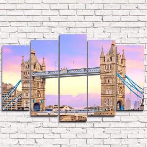 Модульная картина Таурский мост 5-1