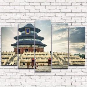 Модульная картина Храм неба в Пекине 5-1