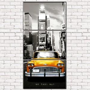 Модульная картина Такси 3-1