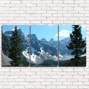 Модульная картина Спрятанное озеро 3-1