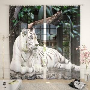 Фототюль Белый тигр