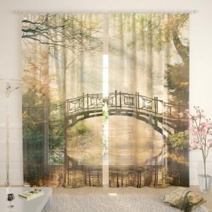 Фототюль Туманный мост