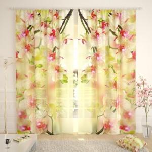 Фототюль Воздушная орхидея