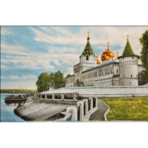 """Гобеленовое Панно """"Кострома. Ипатьевский монастырь"""" (35х55)"""