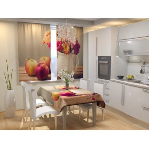 Фотошторы для кухни Натюрморт