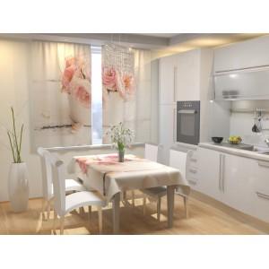 Фотошторы для кухни Воздушная невесомость