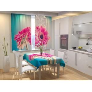 Фотошторы для кухни Красочное утро