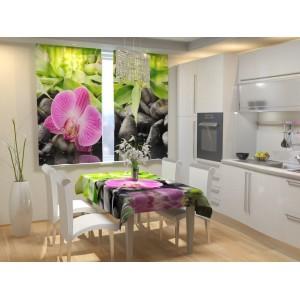 Фотошторы для кухни Несравненная орхидея
